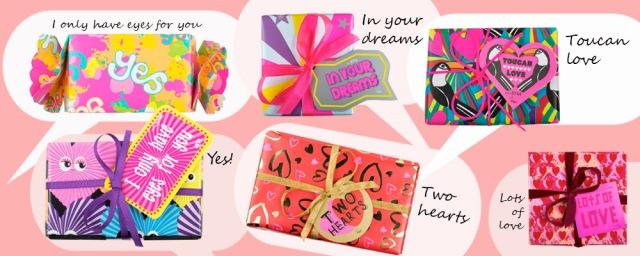 Lush Valentine's gifts