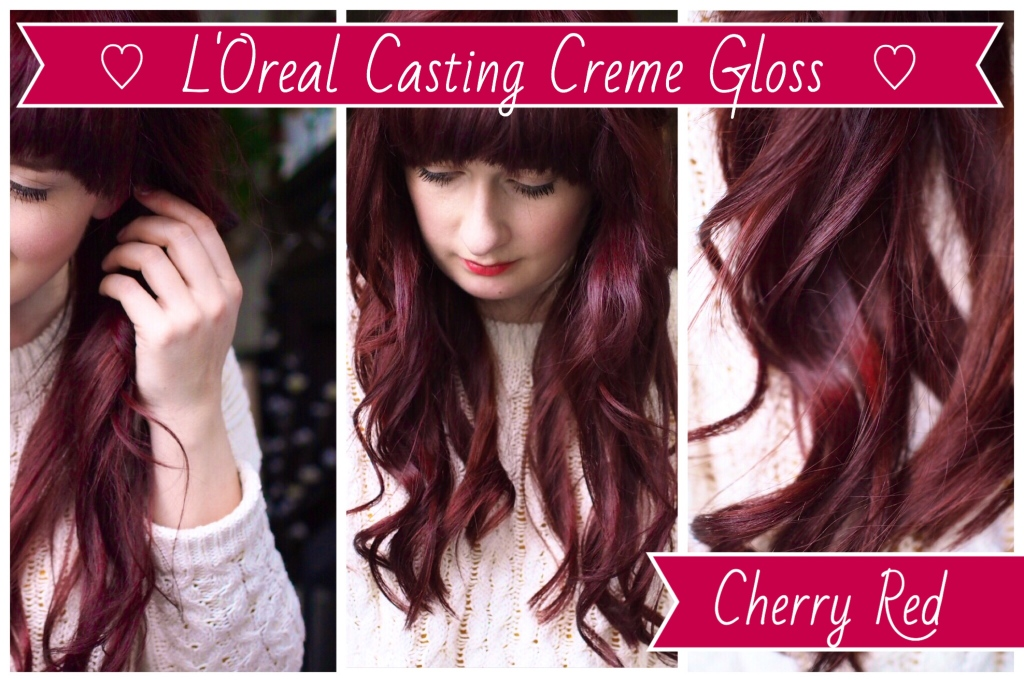 Cherry Red Hair Dye L Oreal Casting Creme Gloss Not The